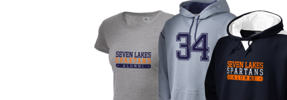 Seven Lakes High School Spartans Apparel