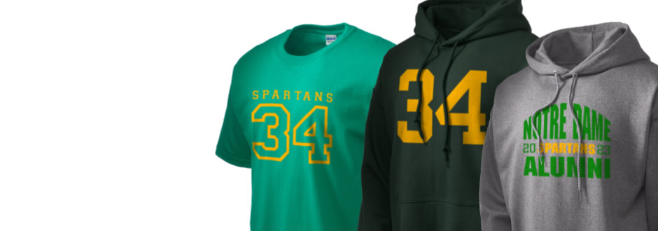 Notre Dame High School Spartans Apparel