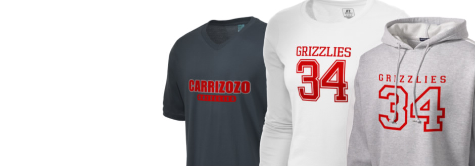 Carrizozo High School Grizzlies Apparel