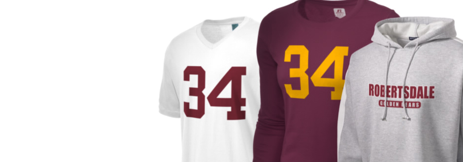 Robertsdale High School Golden Bears Apparel