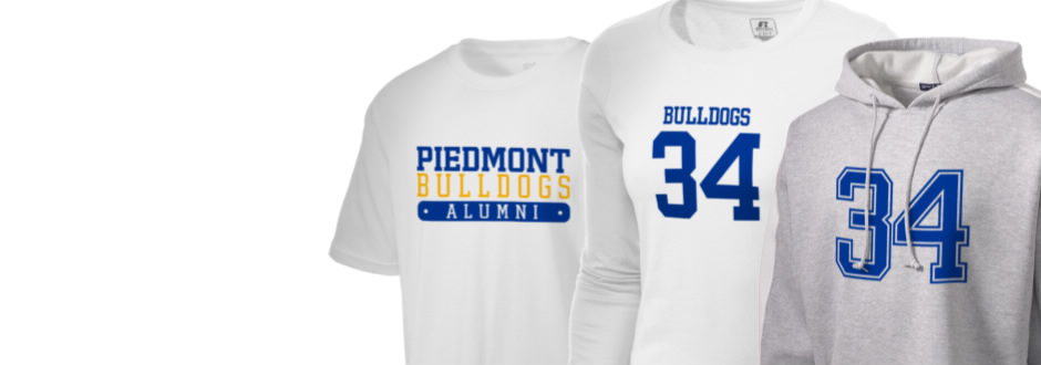 Piedmont High School Bulldogs Apparel