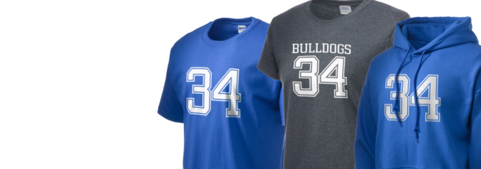 Clarke County High School Bulldogs Apparel