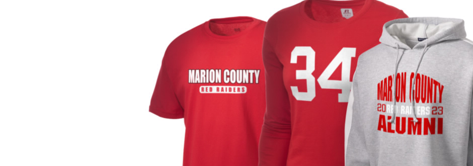 Marion County High School Red Raiders Apparel