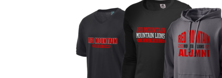 Red Mountain High School Mountain Lions Apparel