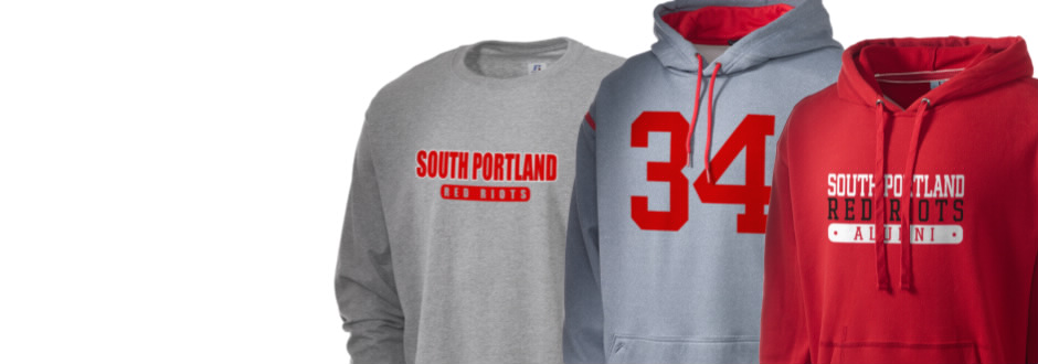 South Portland High School Red Riots Apparel
