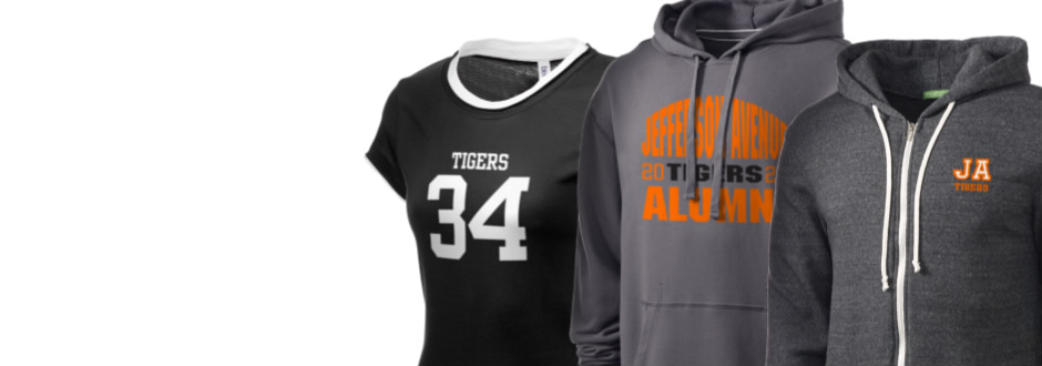 Jefferson Avenue Elementary School Tigers Apparel