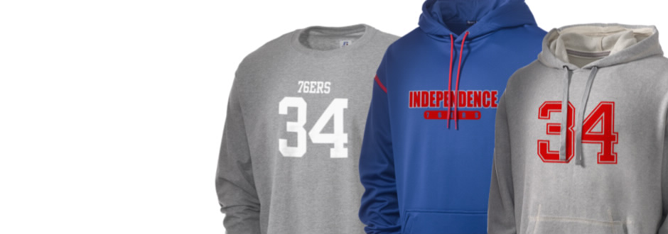 Independence High School 76ers Apparel