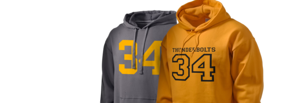 Andrew High School Thunderbolts Apparel