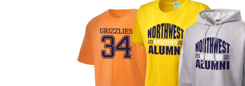 Wichita Northwest High School Grizzlies Apparel