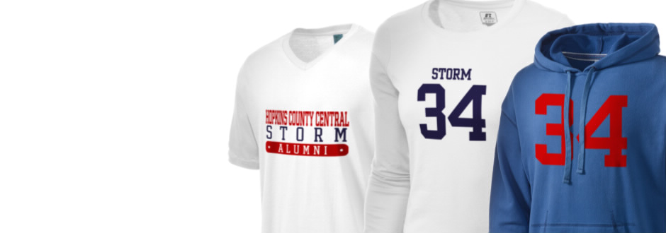 Hopkins County Central High School Storm Apparel