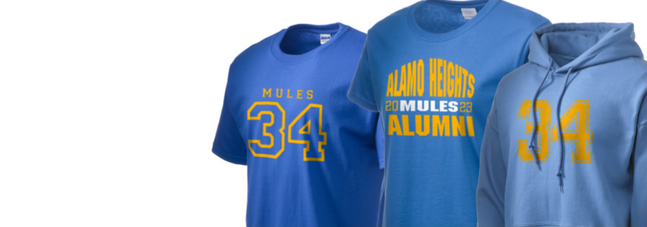Alamo Heights High School Mules Apparel