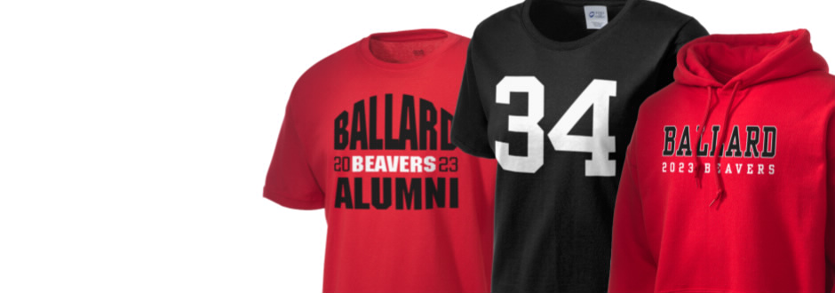 Ballard High School Beavers Apparel