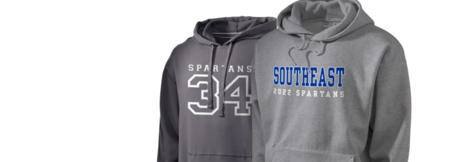 Southeast High School Spartans Apparel