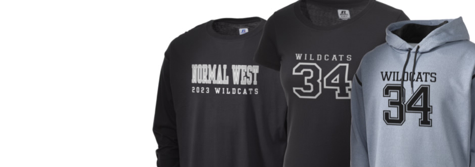 Normal Community West High School Wildcats Apparel
