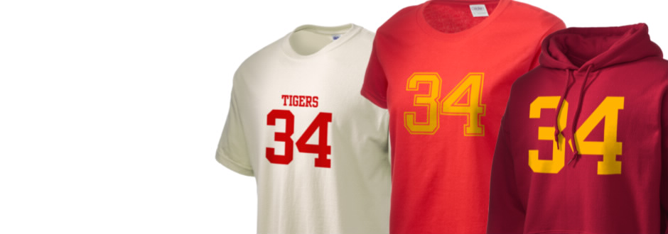 Alexandria Monroe High School Tigers Apparel