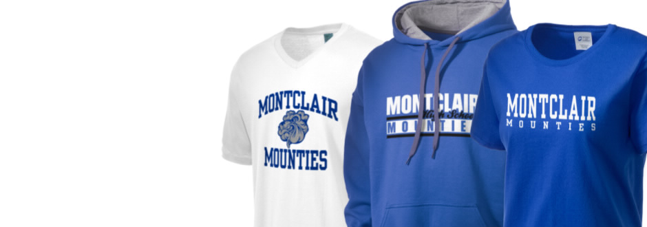 Montclair High School (New Jersey) - Montclair High School Mounties Apparel Store | Prep Sportswear - Order Montclair High School shirts, t shirts, sweatshirts, hats, gear, merchandise   and more . Montclair High School is located in Montclair, New Jersey.
