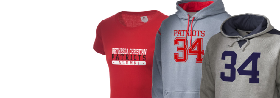 Bethesda Christian School Patriots Apparel