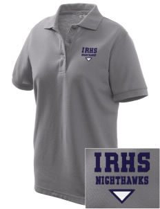 Ironwood Ridge High School Nighthawks Women's Embroidered Silk Touch Polo
