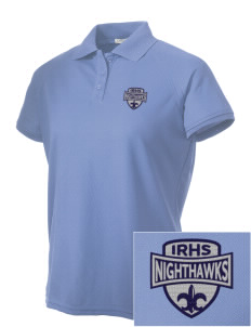 Ironwood Ridge High School Nighthawks Embroidered Women's Technical Performance Polo