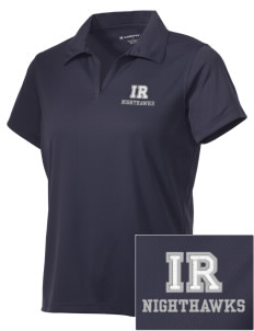 Ironwood Ridge High School Nighthawks Embroidered Women's Double Mesh Polo