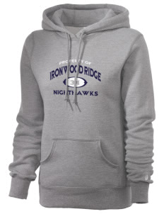Ironwood Ridge High School Nighthawks Russell Women's Pro Cotton Fleece Hooded Sweatshirt