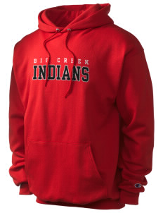 Big Creek Indians Champion Men's Hooded Sweatshirt