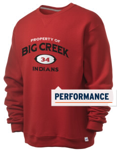 Big Creek Indians  Russell Men's Dri-Power Crewneck Sweatshirt
