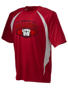 Davis Emerson Middle School Bulldogs Champion Men's Double Dry Elevation T-Shirt