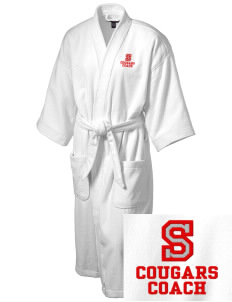 Sutter Middle School Cougars Embroidered Terry Velour Robe