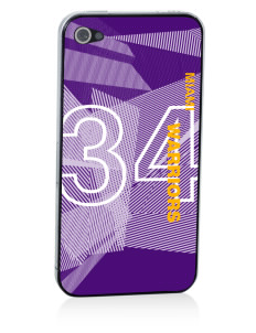 Miami High school Warriors Apple iPhone 4/4S Skin