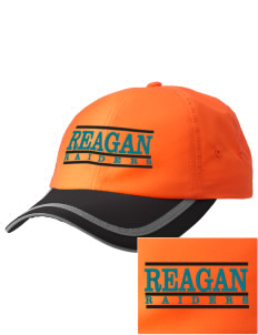 REAGAN HIGH SCHOOL Raiders  Embroidered Safety Cap