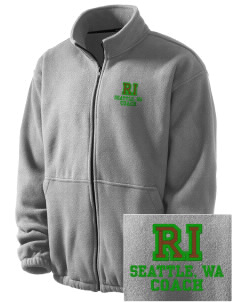 Ratio Interactive Seattle, WA Embroidered Men's Fleece Jacket