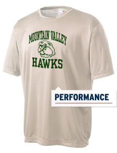 Mountain Valley Academy Hawks Men's Competitor Performance T-Shirt