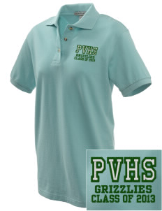 Pajaro Valley High School Grizzlies Embroidered Women's Pique Polo