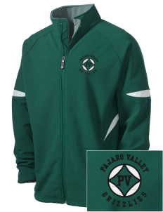 Pajaro Valley High School Grizzlies Holloway Embroidered Men's Radius Zip Front Jacket