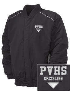 Pajaro Valley High School Grizzlies Embroidered Russell Men's Baseball Jacket