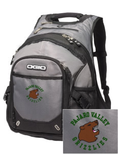 Pajaro Valley High School Grizzlies Embroidered OGIO Fugitive Backpack