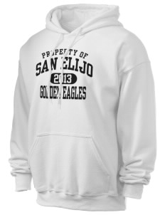 San Elijo Middle School Golden Eagles Ultra Blend 50/50 Hooded Sweatshirt