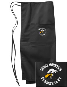 Undermountain Elementary Embroidered Full Bistro Bib Apron