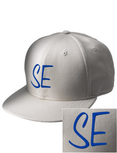 South Egremont School  Embroidered New Era Flat Bill Snapback Cap