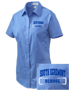 South Egremont School Embroidered Women's Easy Care Short Sleeve Shirt