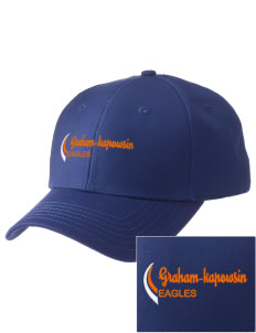 Graham-Kapowsin High School Eagles  Embroidered New Era Adjustable Structured Cap