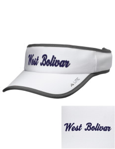 West Bolivar High School Eagles Embroidered Lite Series Active Visor