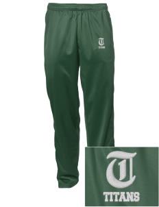 Tuscarora High School Titans Embroidered Men's Tricot Track Pants
