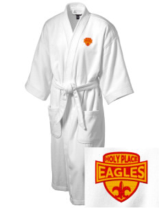The Holy Place Christian Academy Eagles Embroidered Terry Velour Robe