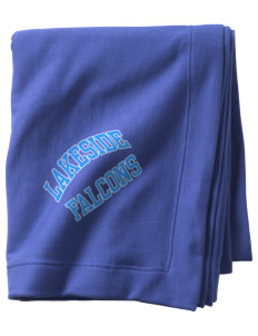 Lakeside Christian Academy FALCONS  Sweatshirt Blanket