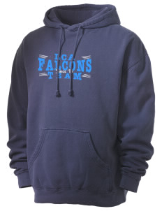 Lakeside Christian Academy FALCONS Men's 80/20 Pigment Dyed Hooded Sweatshirt