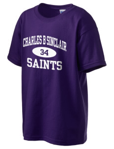 Charles B Sinclair Middle School Saints Kid's 6.1 oz Ultra Cotton T-Shirt