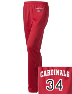 Carlin Park Elementary School Cardinals Embroidered Holloway Women's Contact Warmup Pants