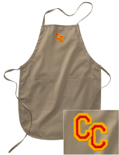 Clay Central School Meadowlarks Embroidered Full Length Apron
